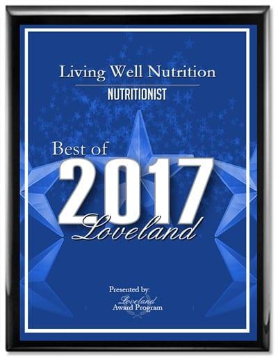 Best of Loveland 2017 award