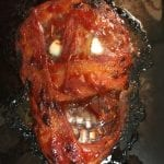 Kristys Mummy Meatloaf for Healthy Halloween