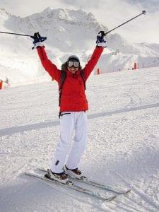 Ski trip thanks to your health coaching