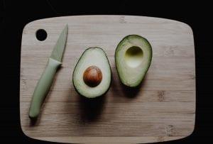 Avocado, example of anti-inflammatory healthy fats