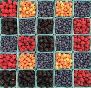 berries fiber boost immune system