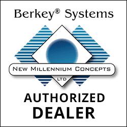 Berkey Water authorized dealer badge