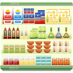 graphic of kitchen pantry