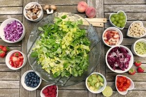 eat a rainbow of foods for healthy pregnancy