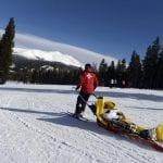 painful ski accident