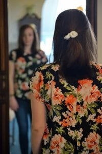 looking in mirror to combat COVID-19