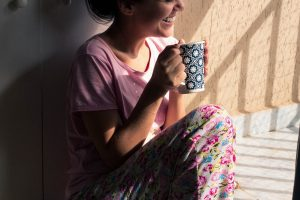 weight loss program chat over tea with nutritionist